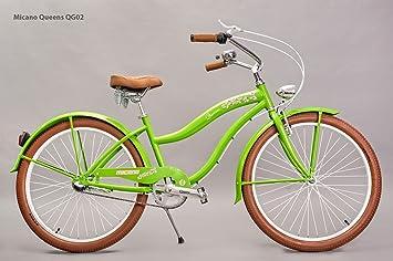 micano Queens - Bicicleta cruiser Beach 26