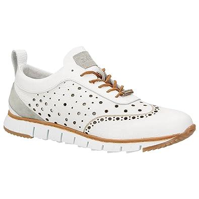 ZWEIGUT Hamburg- Komood  356 Herren Sneaker Leder Schuhe Luftiges Brogue- Muster auf Extrem 180a5952f8