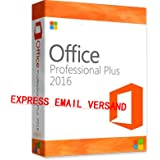 MS Office 2016 Professional Plus Key MS Pro Deutsch 32/64 Bit
