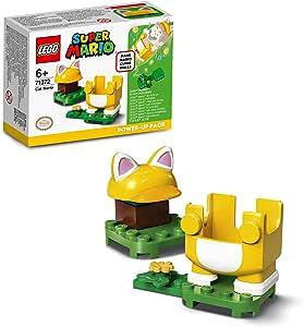 LEGO Super Mario 71372 Kedi Mario Güçlendirme Kostümü Yapım Seti; Yaratıcı Çocuklar için Koleksiyonluk Hediye Oyuncak