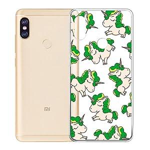"""Cover Xiaomi Redmi Note 5 Pro / Xiaomi Mi 6X, LJSM Transparent Soft Silicone Protective Case Cover Flexible TPU Cover Protection Transparent Cover Case for Xiaomi Redmi Note 5 Pro / Xiaomi Mi 6X (5.99 """") -WM140"""