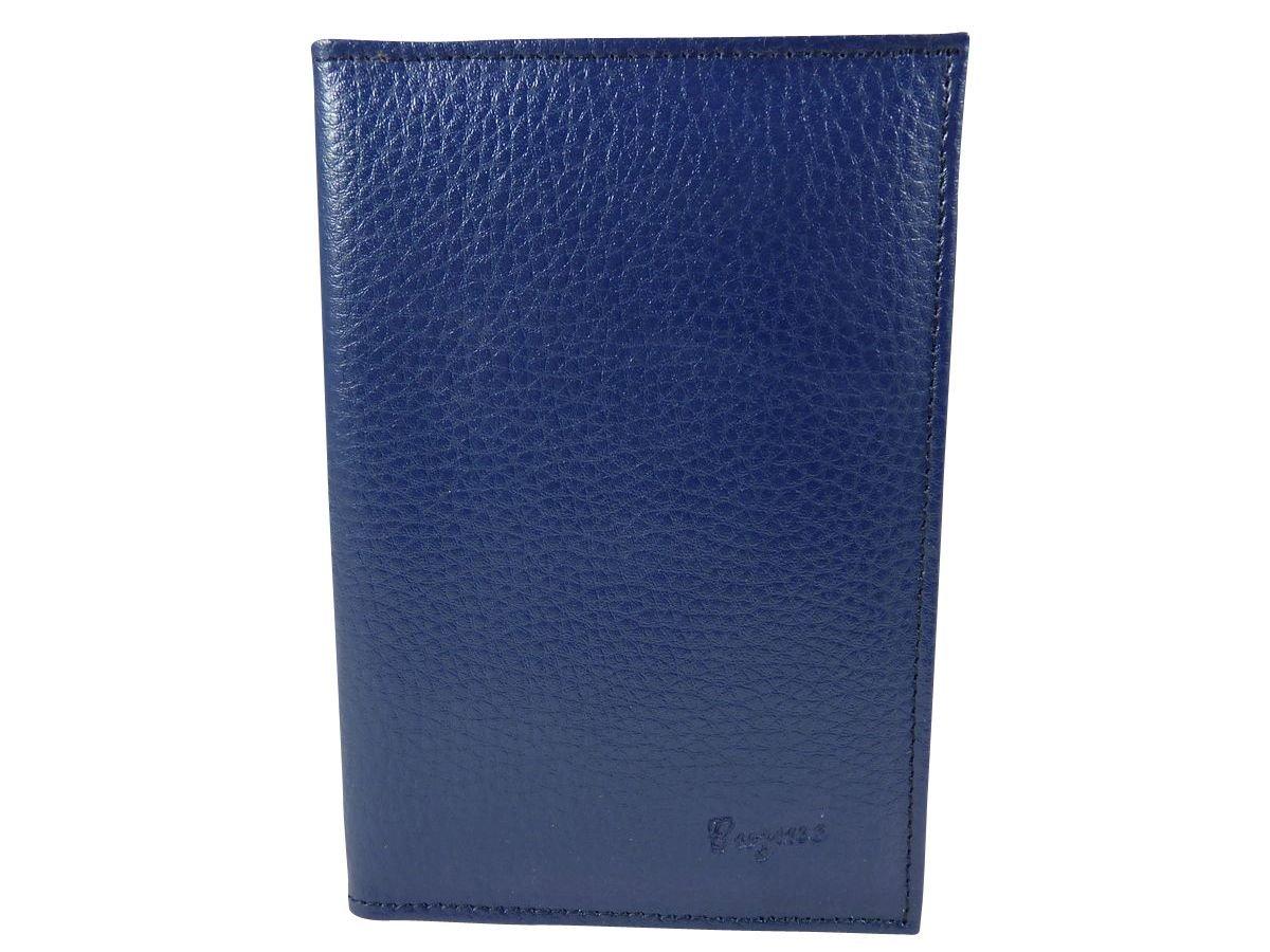 assurance permis en croute de cuir Bleu TU Etui Porte carte grise Pochette de protection