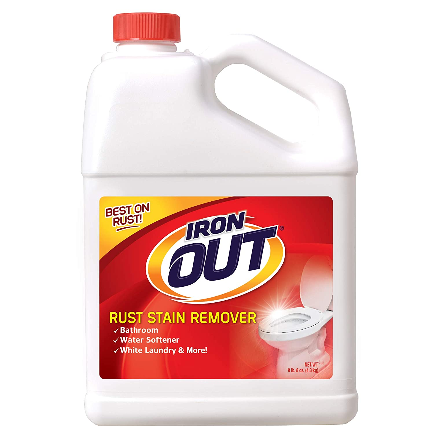 Iron OUT Rust Stain Remover Powder, 9.5 lb. Bottle