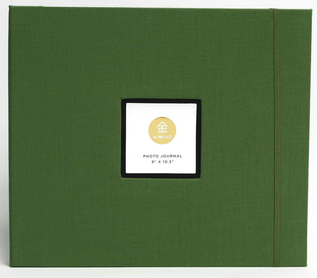 Kinsho KIN3204 Bound Albums, 8.5'' x 9'', Moss by Kinsho
