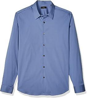 9559a6ea218 Amazon.com: Theory Men's Sylvain Wealth Dress Shirt: Clothing