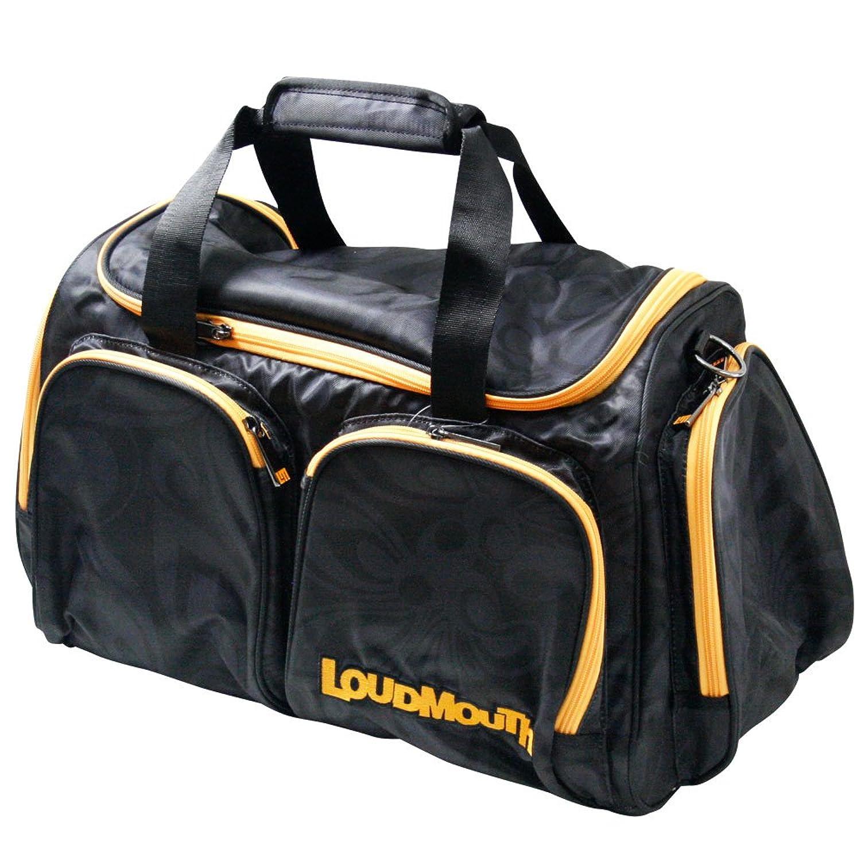 LOUDMOUTH ラウドマウス  LM-BB0002 ボストンバッグ Black(998) B076HL47LJ