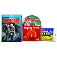 Rampage + Jingle All The Way - 2 English Movies (2 Blu-ray bundle offer)