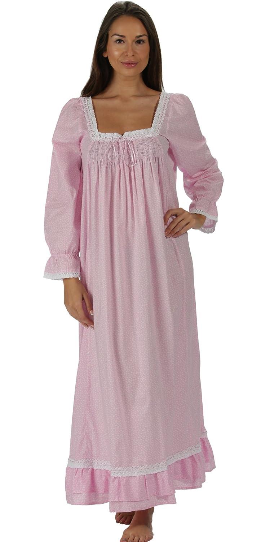 perThe 1 for U 100% cotone lunghezza intera camicia da notte - Martha - s-xxxxl