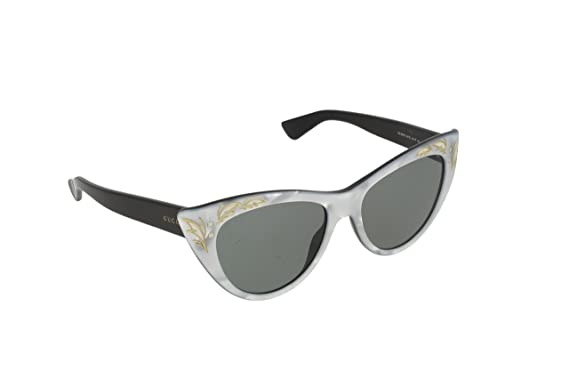 gucci 3806. gucci gg 3806/s u475l (avio silver - black with lenses) 3806