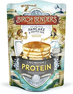 product image for Birch Benders Pancake and Waffle Mix with Whey, Protein, 16 Oz