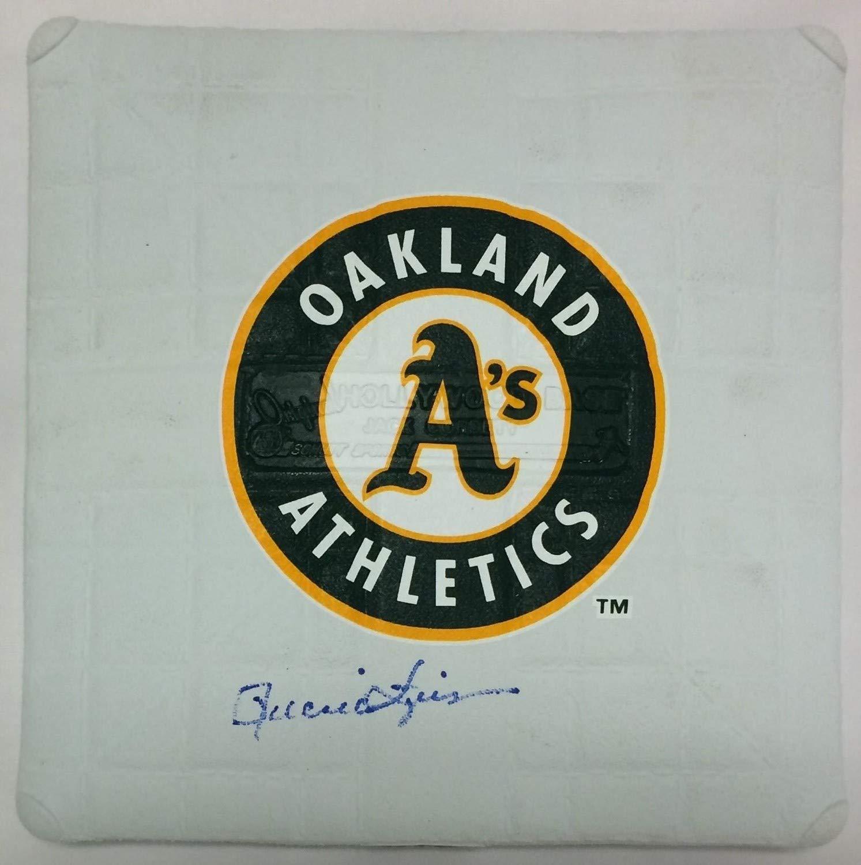 Rollie Fingers Autographed Signed Mini Base Autographed Signed PSA/DNA Authentic Oakland Athletics HOF Schutt