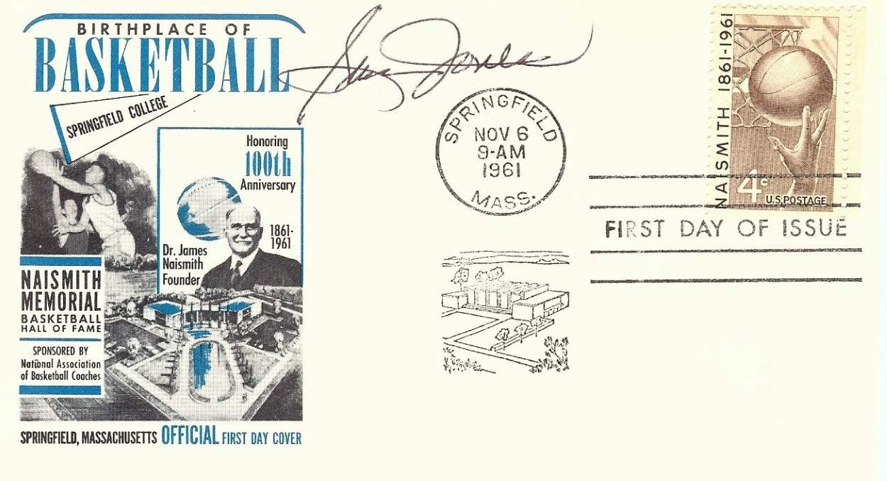 Sam Jones Signed Autographed 1961 First Day Issue Cachet Celtics JSA AA84557