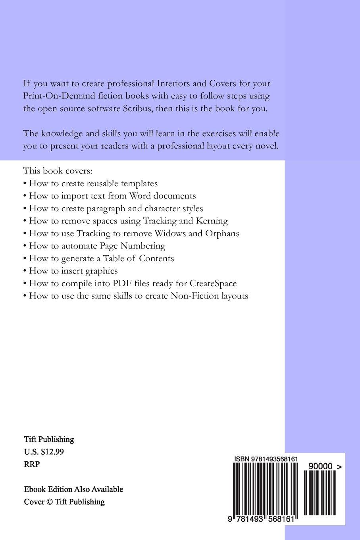 Creating Print On Demand Interiors Covers Using Scribus 1 4 1