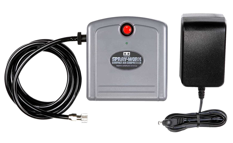 タミヤ スプレーワーク コンパクトコンプレッサー 74533