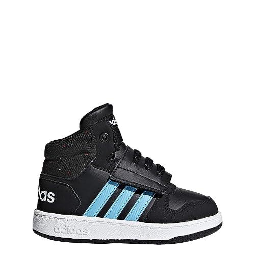 Adidas Hoops Mid 2.0 I, Zapatillas de Deporte Unisex niño, (Negro 000)