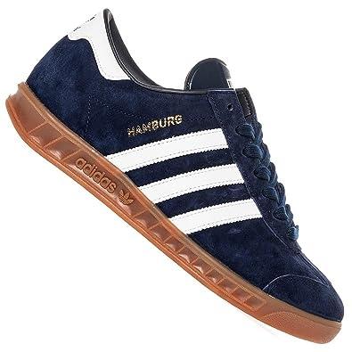 Schuhe Originals Adidas Hamburg Sneaker Blau Leder D65192 Kult Samba xCerdBQoW