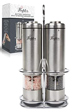 Flafster Ceramic Core Electric Pepper Grinder