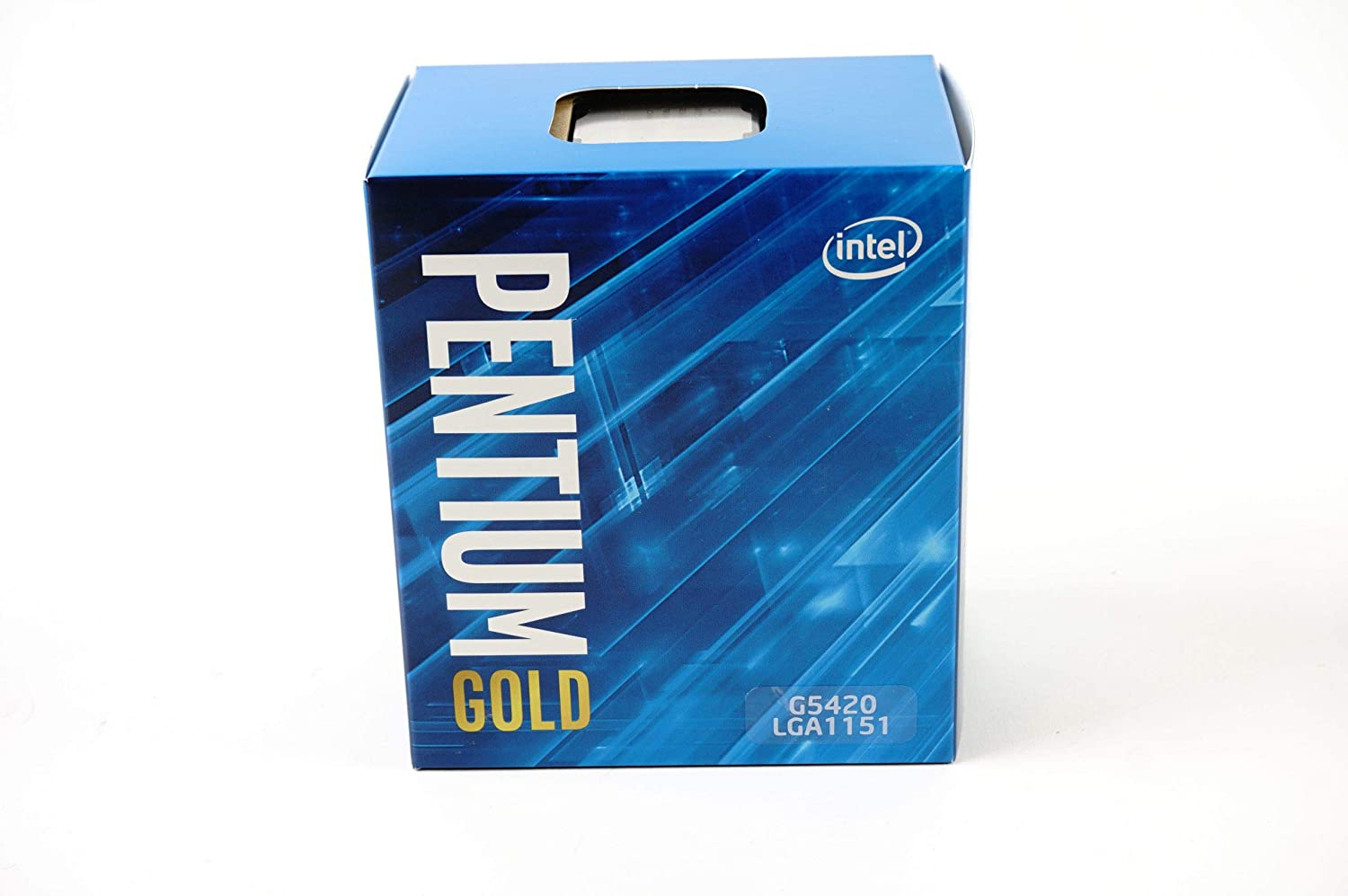 Intel Pentium Gold G5420 Desktop Processor 2 Core 3.8 GHz LGA1151 300 Series 54W
