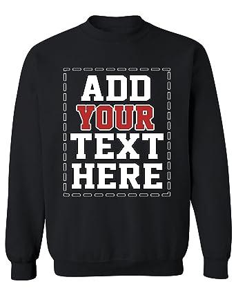 Design Your OWN Personalized Sweatshirt - Custom Sweatshirts for Men   Women e3e24215966b