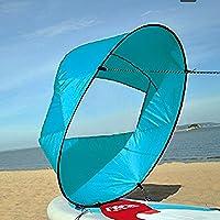 VGEBY Downwind Paddle,Kayak Wind Sail Paddle 42 pollici Kayak Canoa Accessori Compatto e Portatile