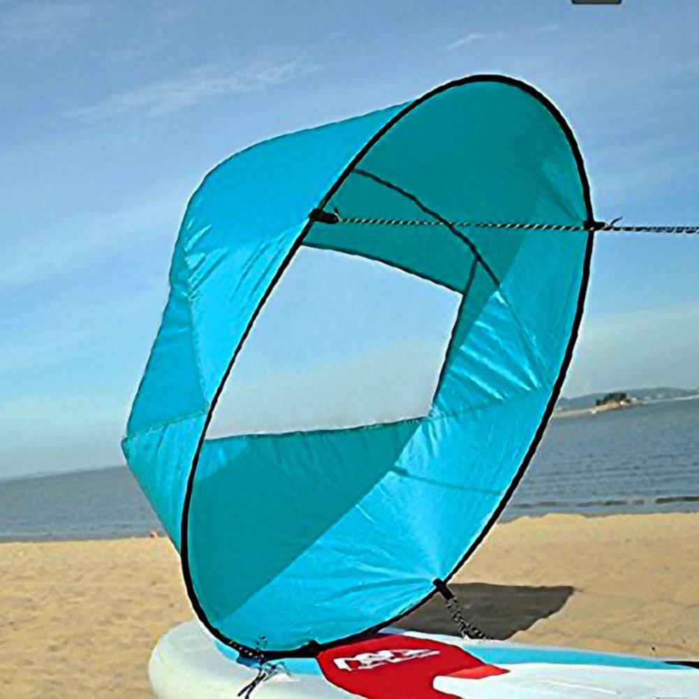 Vela para Kayak, Kayak Vela Paddle 42 Pulgadas Accesorios de Kayak Canoa Compacto y Portátil (Color : Azul) : Amazon.es: Deportes y aire libre