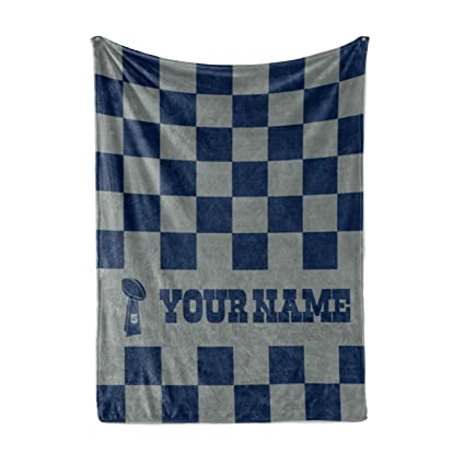 33e0903a Personalized Corner Custom Dallas Cowboys Colors Themed Fleece Throw  Blanket - Gifts for Football Fans Men Women Kids Man Cave Decor Mens Womens  ...