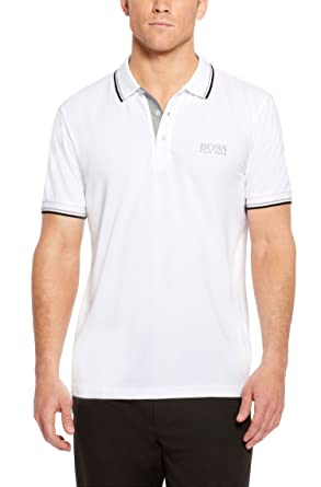 2931db8844b Image Unavailable. Image not available for. Color  Hugo Boss Men s Paddy  Pro Moisture Manager Stretch Polo Shirt ...