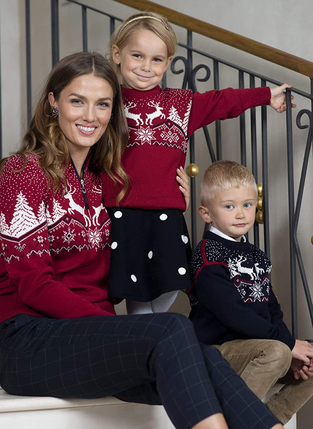 Dale of Norway Kinder Dale Christmas Kids Pullover