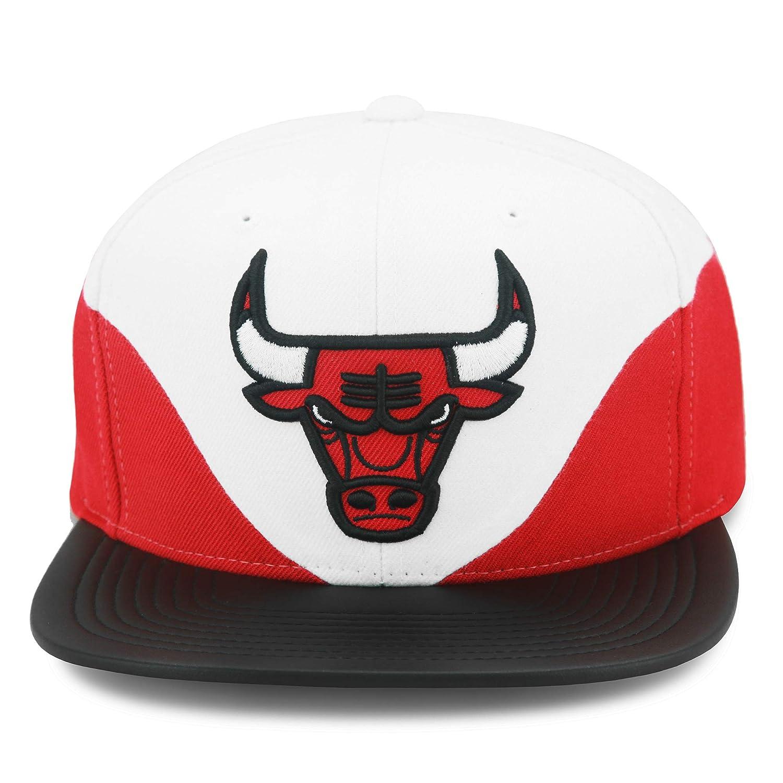 Mitchell & Ness Chicago Bulls Bell - Gorra de Piel sintética con ...