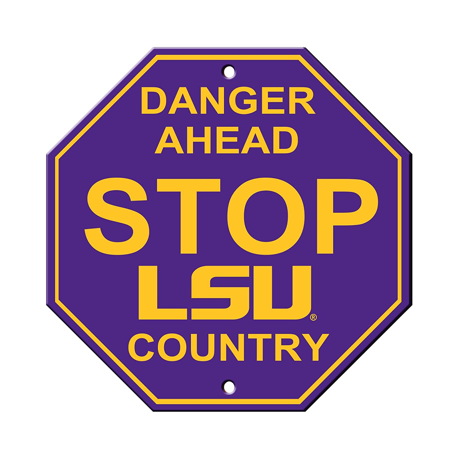 12 NCAA Stop Sign