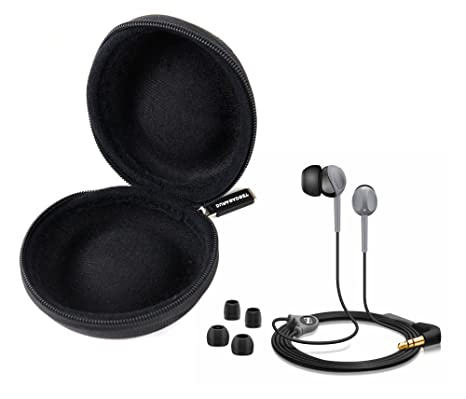 DURAGADGET Funda Negra Para Auriculares Razer HammerHead Pro V2 / HammerHead V2 / Oneplus Bullets V2: Amazon.es: Electrónica