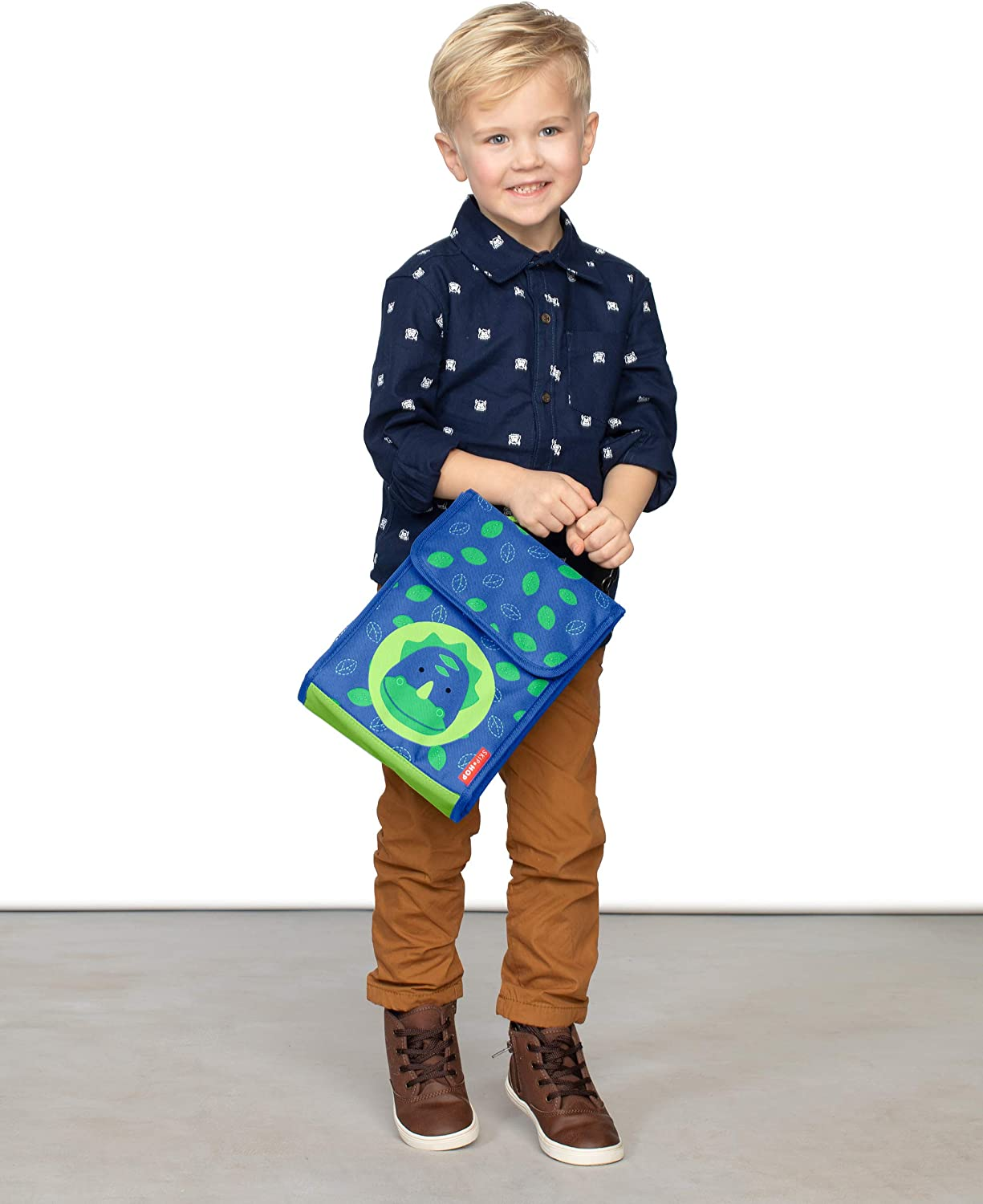 Skip Hop Kids Insulated Lunch Bag Dino