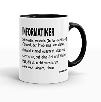 Schwarz Voll M Programmierer Informatiker Definition Computer ...