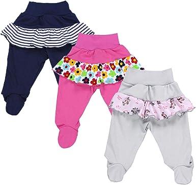 Lot de 5 TupTam Pantalon avec Pieds pour B/éb/é