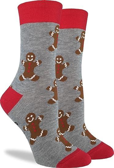 good luck sock womens gingerbread men christmas socks adult shoe size - Christmas Socks For Men