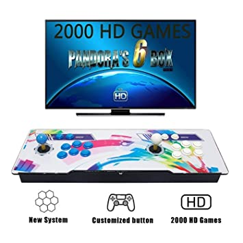 Tinder Pandoras Box 6S 2000 Games 1280x720 Full HD, CPU Avanzada con 2 Joystick Partes
