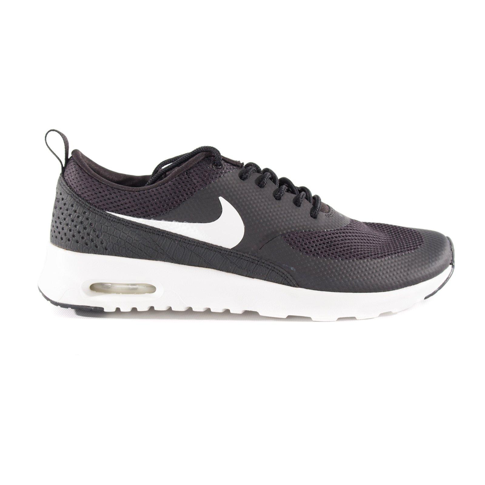 NIKE Air Max Thea Women Sneakers BlackAnthraciteWhiteWolf Grey 599409 007 (Size: 7.5)