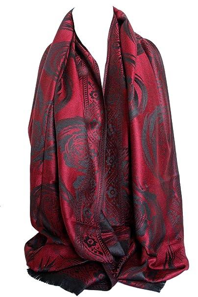 HEART Scarf Embossed Hearts Ladies Womens Shawl//Hijab Soft Long Quality Wrap