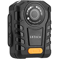 LBTech 1296P HD Police Body Camera Vedio/Audio Recorder for Law Enforcement with Night Vision, 2 inch Display & 32GB Built-in Memory (32G)
