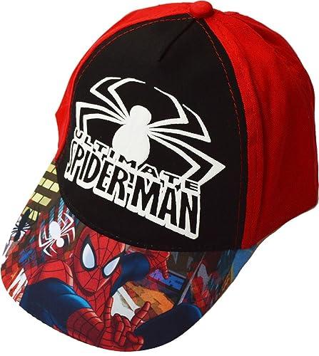 Marvel Spiderman Spider-man Gorro gorra para niño 54 cm: Amazon.es: Zapatos y complementos