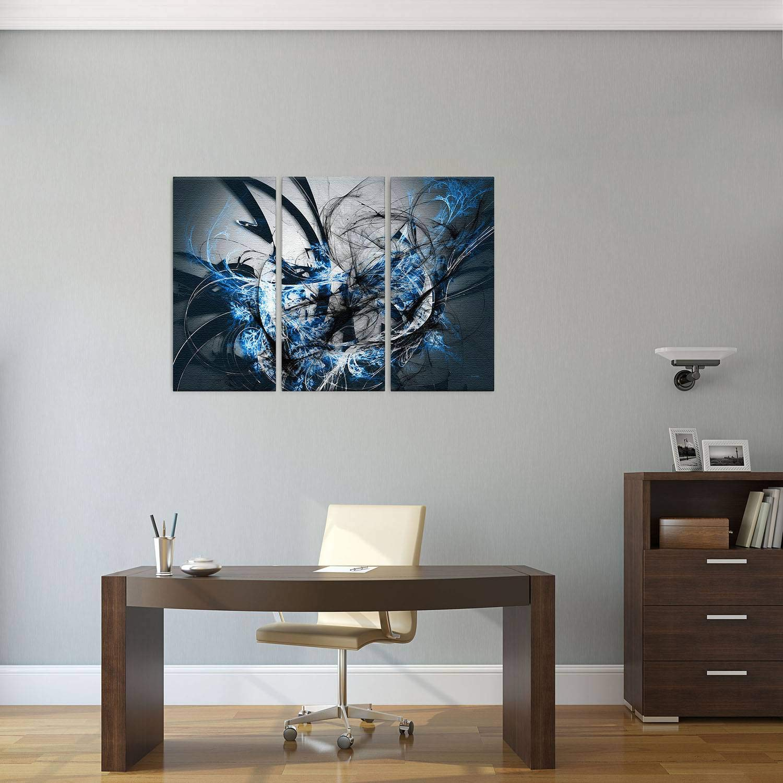 LANA KK KK KK Luxus Ausführung Grow SW  Abstraktes Design auf 4 cm Echtholz, Bunt, 100 x 70 cm B074SV5CKK Keilrahmen Abholung in der Boutique a1e0ef