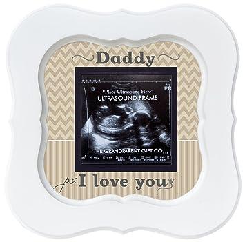 Amazon.com : Daddy Ultrasound Sonogram Frame P.S. I Love You : Baby