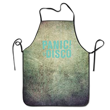 Kuche Apron Panic At The Disco Turkis Logo 0611804190011