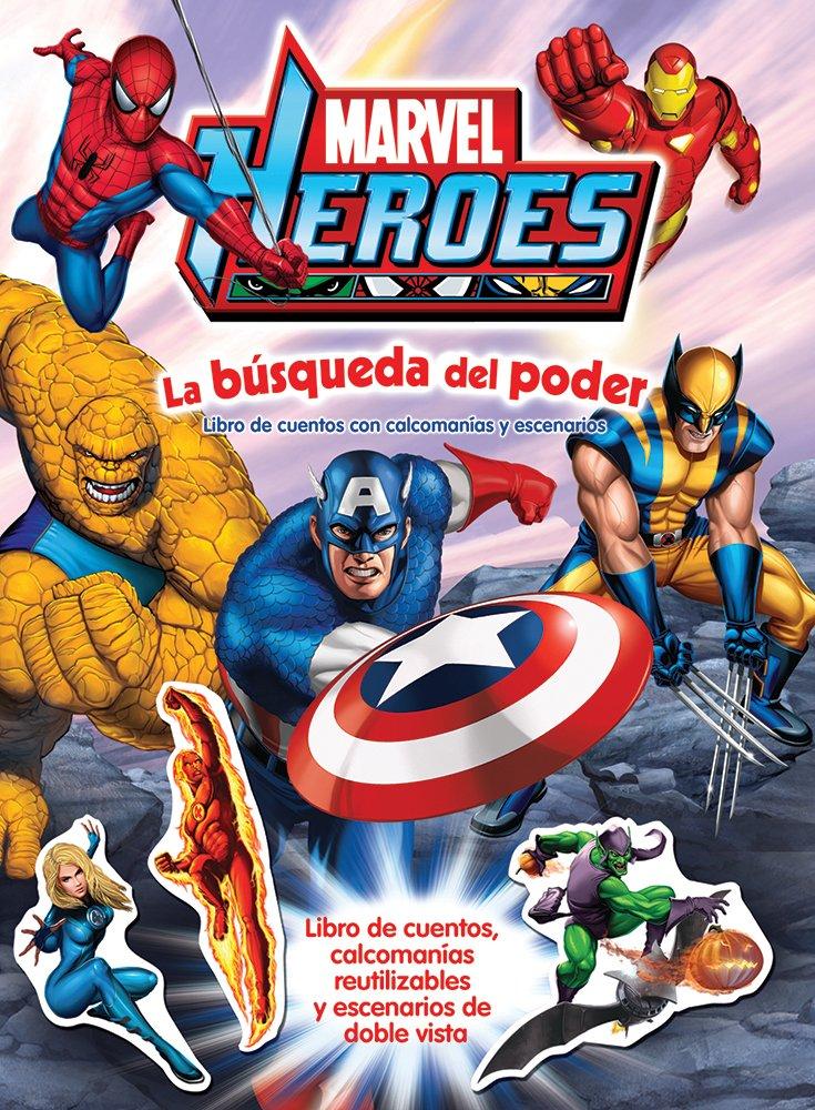 marvel heroes la busqueda del poder PDF