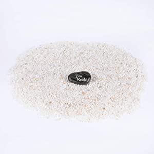 ROCKIMPACT 5.5 lb Pea Gravel Mini, Tumbled Polished Natural Stone Small Pebbles Professional for Bonsai Plant Pot, Lucky Bamboo, Succulents, Aquarium, Terrarium, Kids Crafts, 3/16