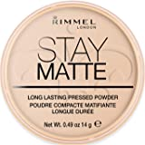 Rimmel London Stay Matte Pressed Powder, Peach Glow #003, 14 g