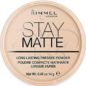 Rimmel London Stay Matte Pressed Powder, 003 Peach Glow