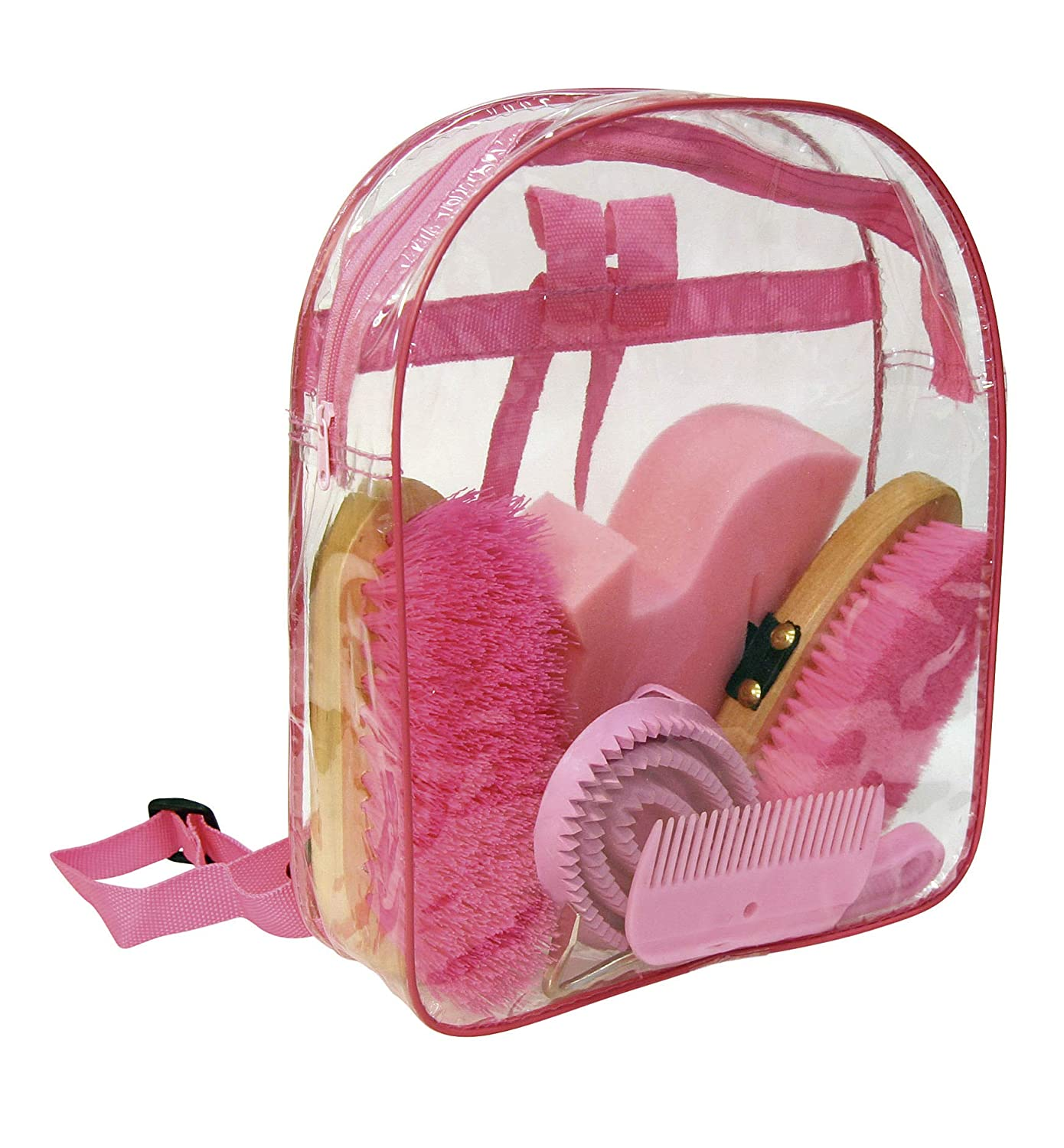 KERBL (Koeber) grooming kit backpack junior pink KE-HA-32796 Pink