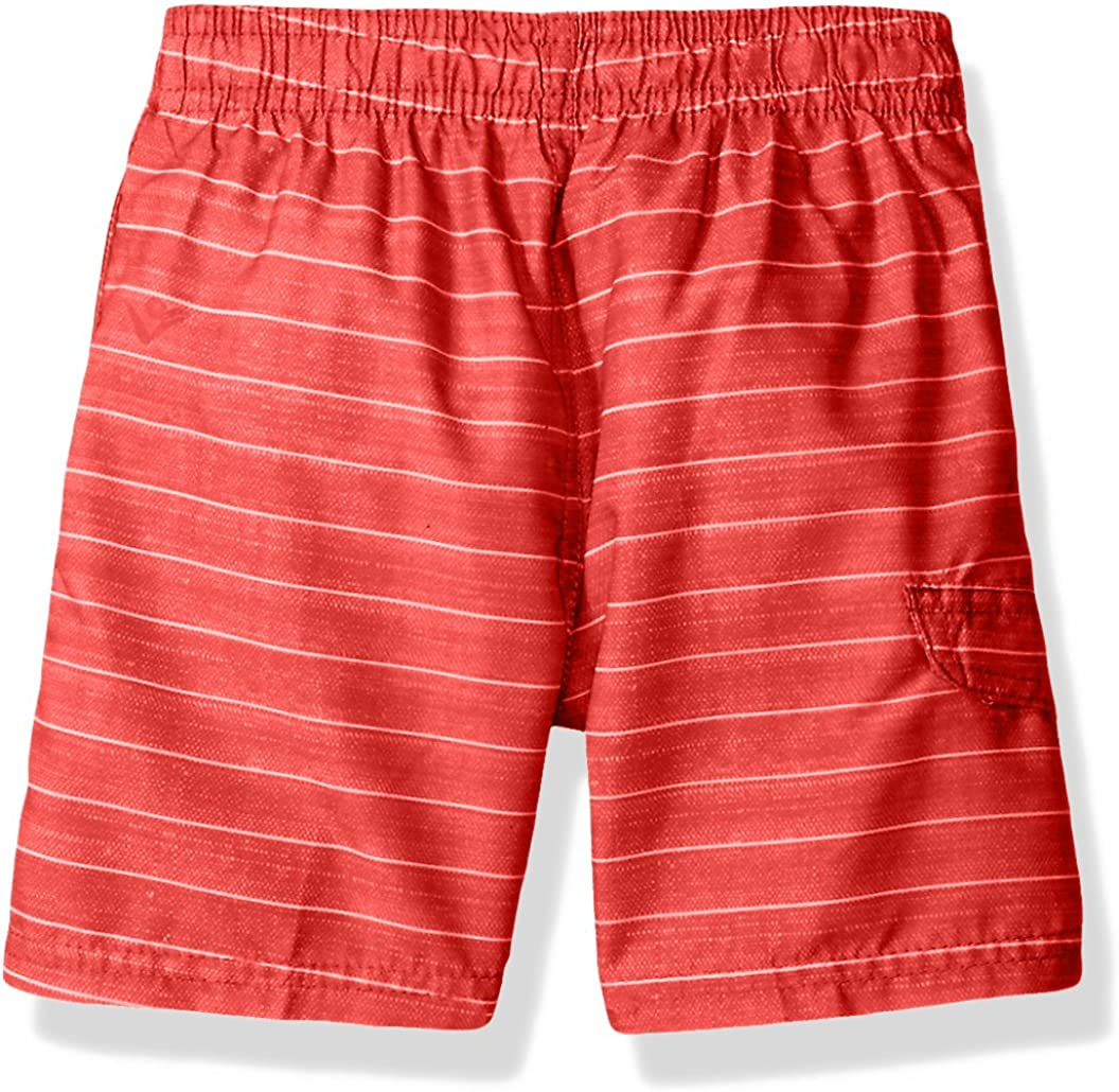 Kanu Surf Boys Line Up Stripe Quick Dry Beach Board Shorts Swim Trunk Swim Trunks
