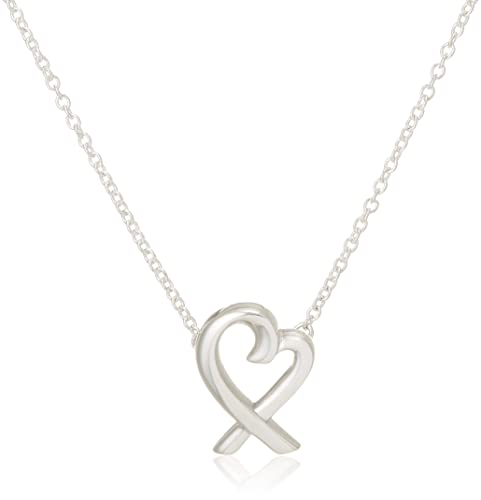 929f064dac5 Tiffany Sterling Silver Paloma Picasso Loving Heart Pendant Necklace Mini  33834748: Amazon.co.uk: Jewellery